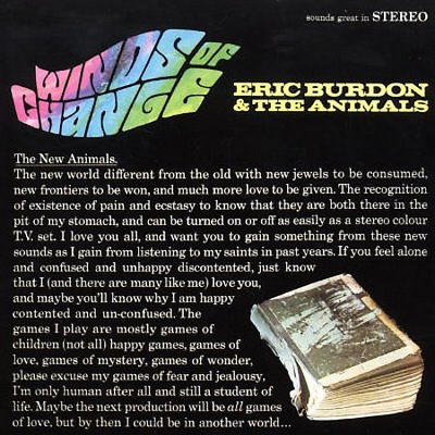 """Winds Of Change"" by Eric Burdon & The Animals (1967)"