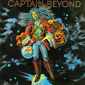 Captain Beyond's self-titled debut LP 1972