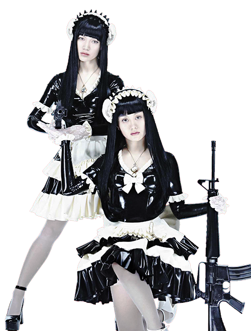 FEMM (Far East Mention Mannequins - RiRi (Emily Kaiho) and LuLa (Hiro Todo)